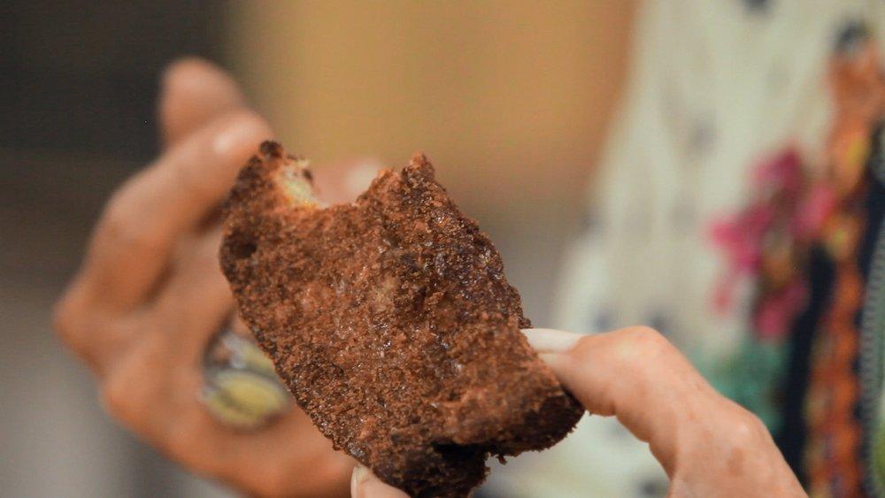 Rabanada de pão integral