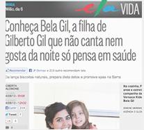 Conheca Bela Gil filha de Gilberto Gil que nao canta nem gosta da noite só pensa em saúde