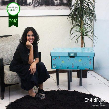 Embaixadora da ChildFund Brasil